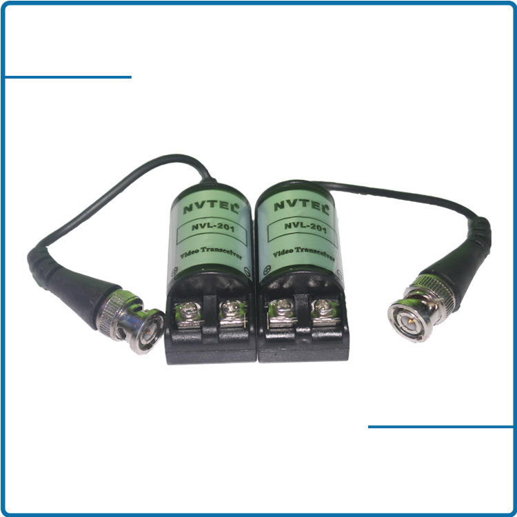 cctv video balun 201C/video balun NV-201C Compact size and easy installation(China (Mainland))