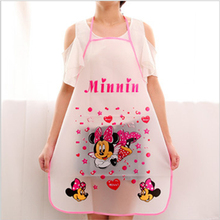 Kit Bib Apron 2016 Promotion free shipping Special Offer Apron  Cartoon Cuff Waterproof Aprons Kitchen Cooking(China (Mainland))
