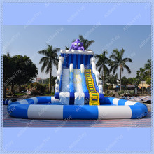 Giant Octopus Inflatable Pool Slide, Inflatable Water Slide for Kids(China (Mainland))