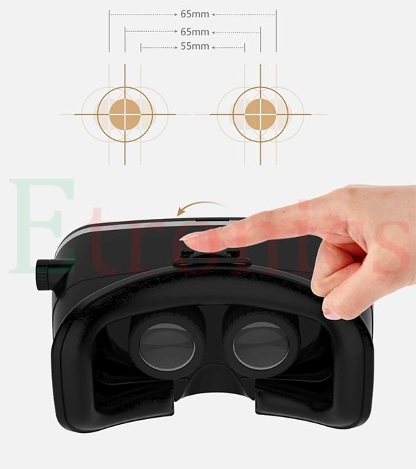 ถูก 2016ชุดหูฟังความเป็นจริงเสมือน(3.5-6.0นิ้วหน้าจอ)-3D VRแว่นตาชุดหูฟังกล่องสำหรับวิดีโอเกม