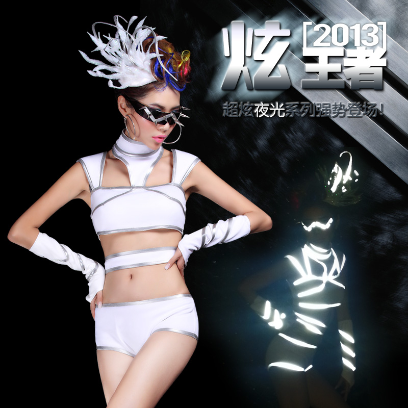 Evening DS costumes dance performance clothing - mailed package(China (Mainland))