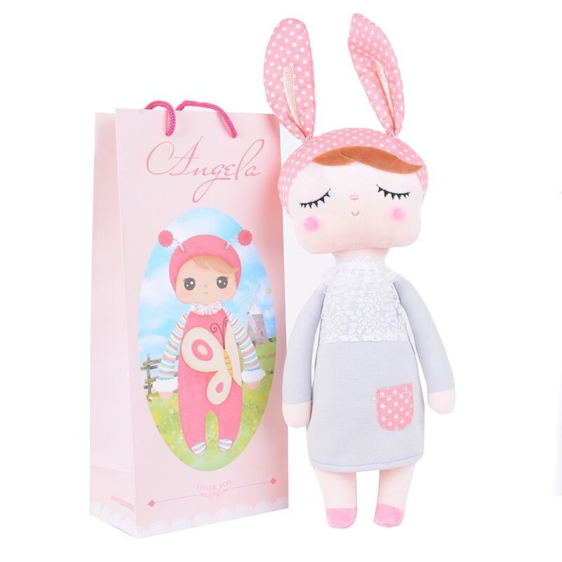 Angela Dolls without Box Dreaming Girl Wear Pattern Skirt Plush Stuffed birthday Gift Toys for Kids Children 2015 Brand New(China (Mainland))