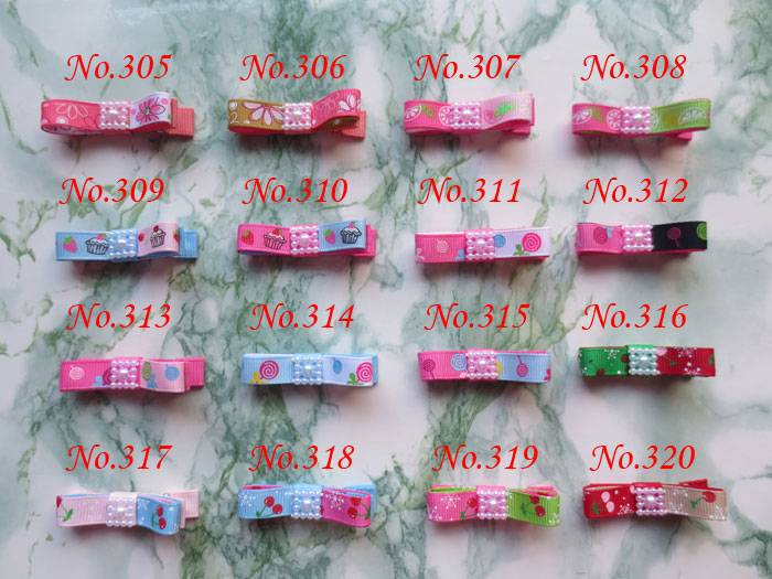 """hand customize hair accessories FREE Shipping 100 PCS BLESSING Good Girl Boutique Hair Clip 2"""" Two tone Bow 384 No.(China (Mainland))"""