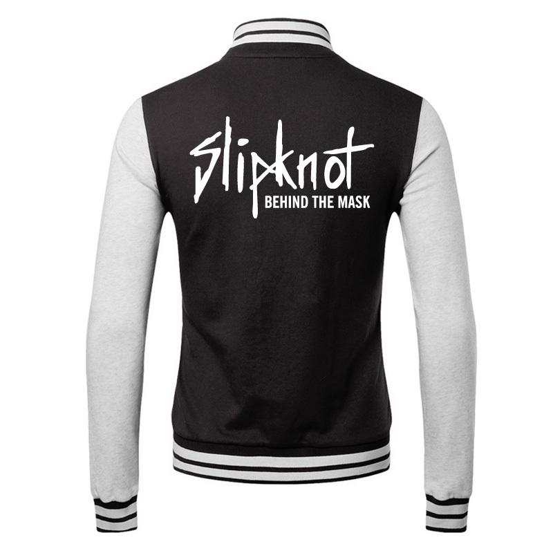 2016 slipknot men sweater coat spring decoration body type men's baseball uniform sweater spring models(China (Mainland))