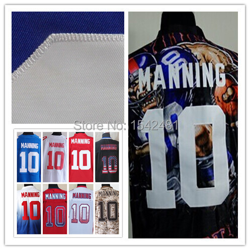 10 Eli Manning jersey 2014 red elite mens American Football Jerseys China cheap authentic Stitched big size 60 S-XXXL China(China (Mainland))