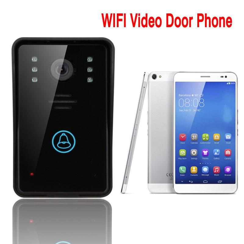 ENNIO WiFi Wireless Video Door Phone Intercom System IR Night Vision Home Improvement Visual Door Ring(China (Mainland))