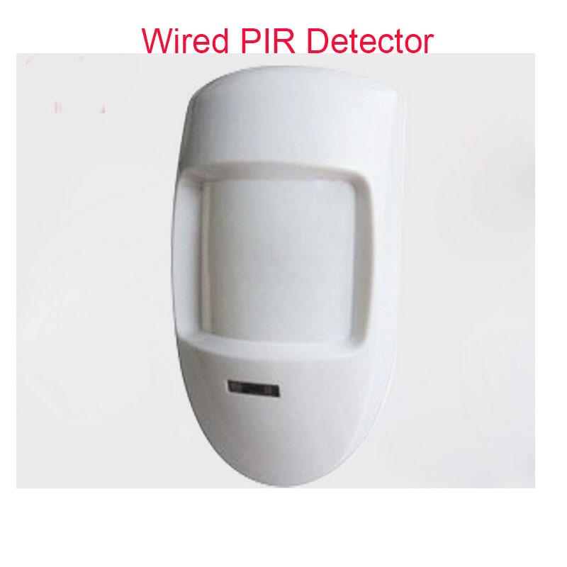 Free Shipping Wired  PIR Detector Detector PIR Passive  Intruder Motion Detection Home Burglar Alarm