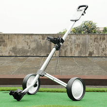 Golf ball trailer folding wheel ball bag car monopack golf cart wheel golf trolley(China (Mainland))