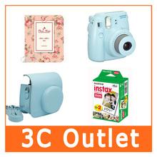 Fujilfilm Instant Mini 8 Camera + Caiul Mini8 Camera Bag + Fuji Instax Twin Pack Film + Photo Frame 64 Sheets
