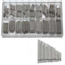 360Pcs 8-25mm Stainless Steel Watch Band Spring Bars With Strap Link Pins Remove