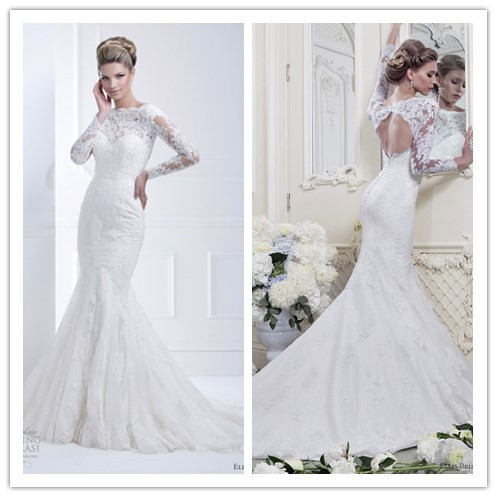 Popular modest wedding gowns long sleeves buy cheap modest for High couture wedding dresses