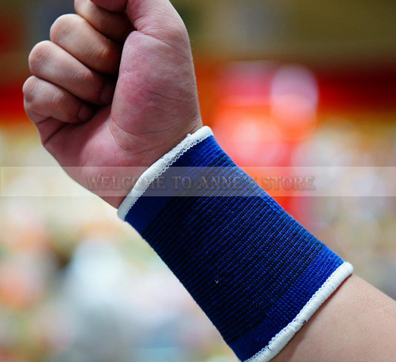Outdoor Protect Tennis Wristband Fitness Custom Hand Wraps Helpful Wrist Wrap(China (Mainland))