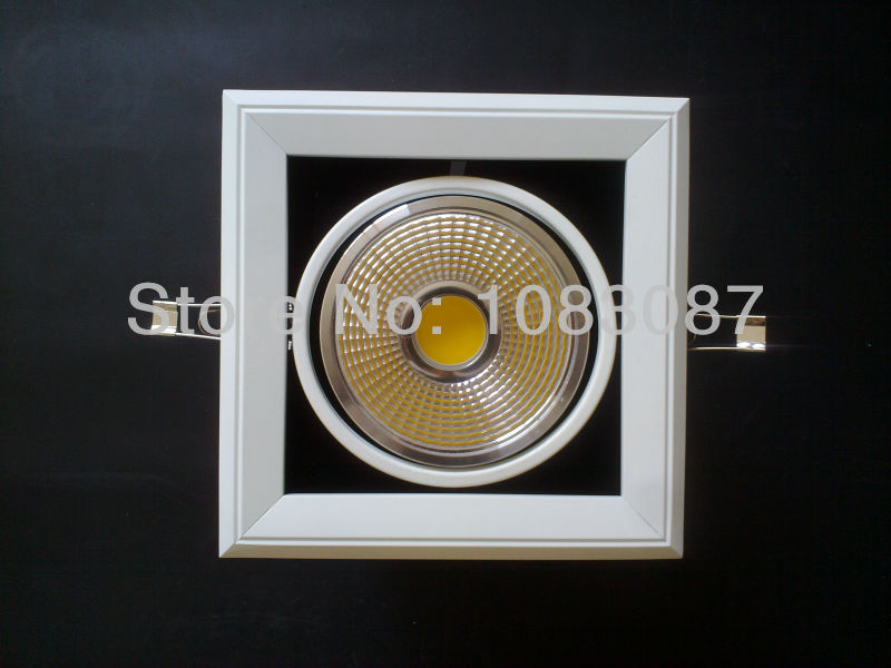 20W LED grille light dimmable LED grille lamp high power home use led beans gall lighting lamp warranty 3 years(China (Mainland))