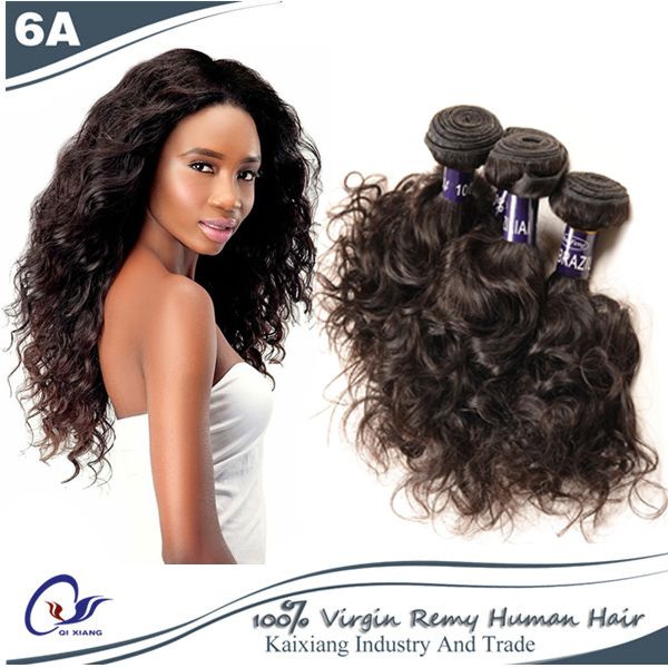 New Style Brazilian Virgin Hair Brazilian Water/Ocean Wave Remy Human hair Tangle Free No Shed Healthy And Clean Free Shipping(China (Mainland))