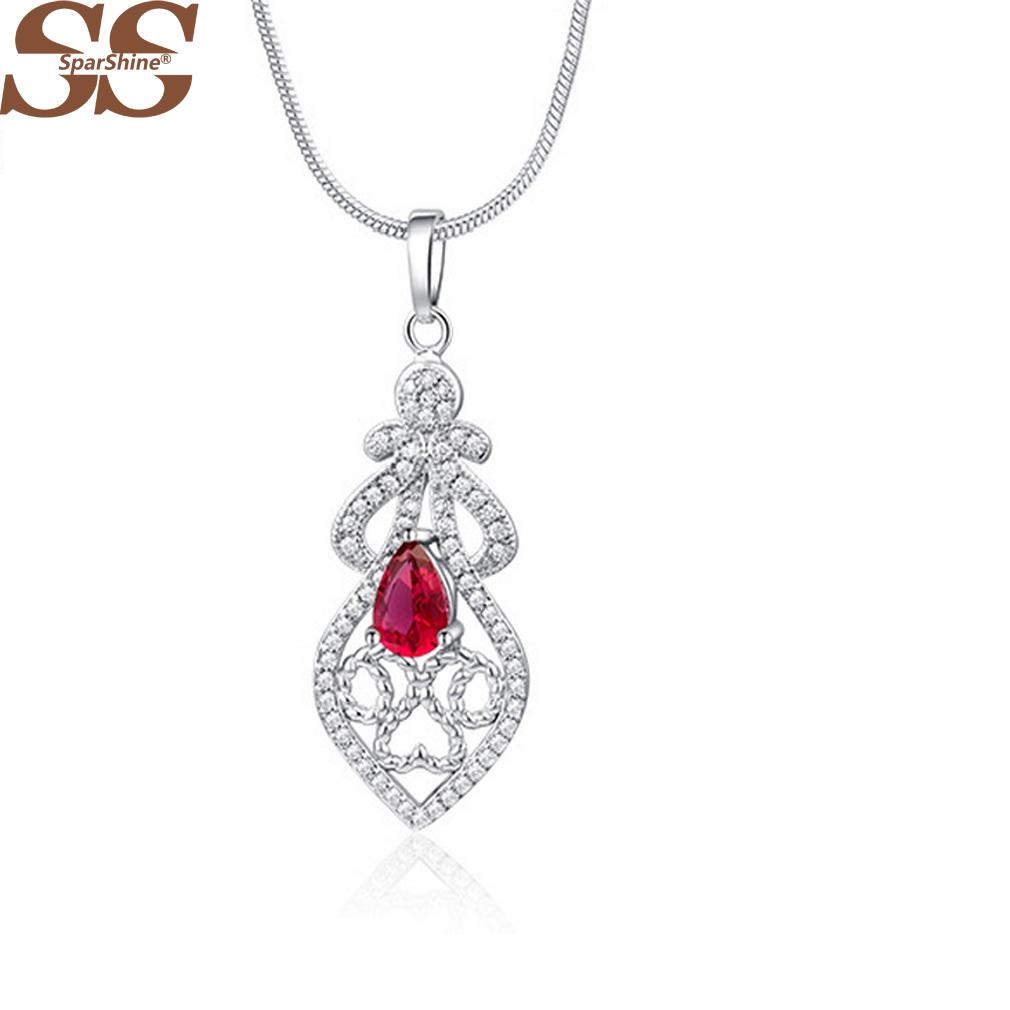 SparShine Bijoux Best Friends 925 Silver Jewelry Big Necklace Accessories Boho Colares Collares 2015 Colar Feminino(China (Mainland))