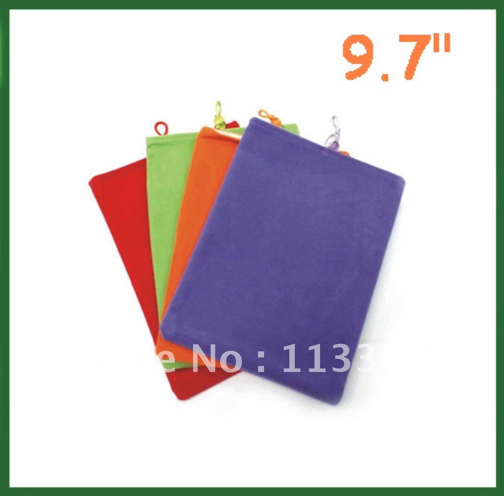 10pcs Universal 9.7 inch Sleeve Case Soft for 9.7 inch Tablet PC Pipo M2 M6 Cube U9GT2 Onda V971 V972 V973 Sanei N90 Vido N90FHD(China (Mainland))