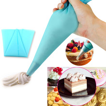 Cream Pastry Bag Dessert Decorators Tool 30cm Length Kitchen accessory Cake Decorating Silicone Piping Baking Tool Pastry Bag