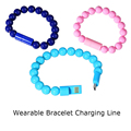 Wearable Bracelet Style USB Charging And Data Transfer Connector Cable Portable Bracelet Charging Line For Android