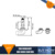 HB3 HB4 W5W Halogen Bulb SUPER WHITE 4300K XENON UPGRADE Car Bulbs Set 12v Lexus IS200 6PCS