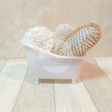 Bath flower bath sponge wood comb bathroom Bath sets mini bathtub Bathroom Storage set goods(China (Mainland))
