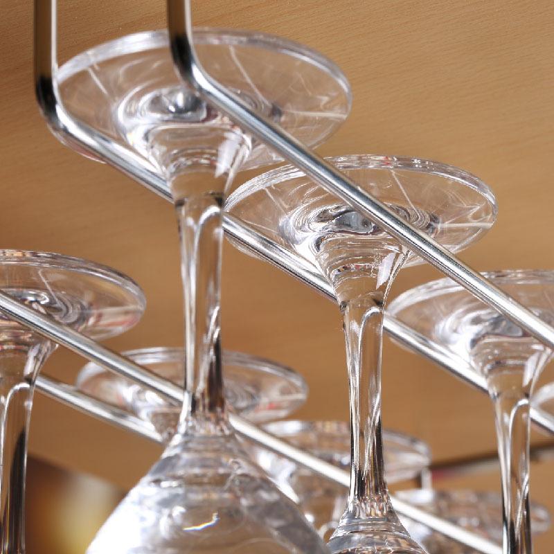 Fashion Bar Red Wine Goblet Glass Hanger Holder Hanging Rack Shelf(China (Mainland))