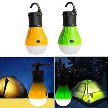 Portable Outdoor Hanging LED Camping Lantern Light Soft Lights Bulb Light Lamp for Fishing Camping Tent