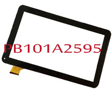 black PB101A2595 10.1″ Inch Tablet PC Touch screen panel Digitizer Glass Sensor replacement free shipping