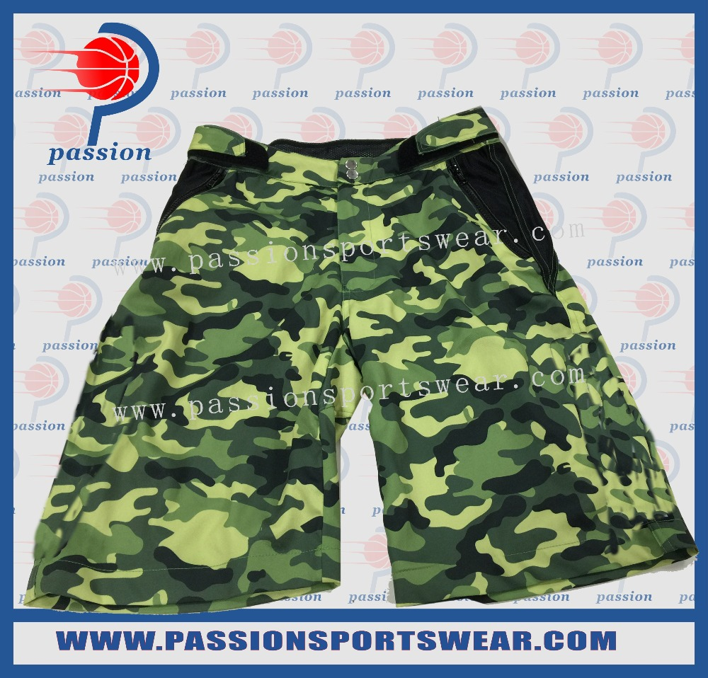 Best Quality Custom MMA Shorts Sublimated Camo Boxing Shorts For Sale(China (Mainland))