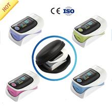 Free Shipping Pulsioximetro Fingertip Pulse Oximeter Oximetro De Pulso De Dedo SpO2 Saturation Meter Pulse Oximeter CE Approved(China (Mainland))