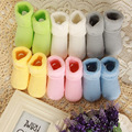 Free shipping 100 Cotton Baby Socks Newborn Floor Socks Kids Cotton Short Socks Girl and Boy