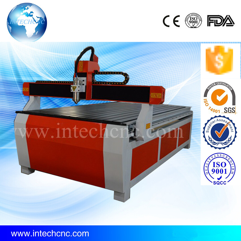 CE standard for acrylic, mdf, plywood, metal, stone 3.0KW 1224 cnc router metal cutting machine(China (Mainland))