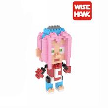 Haruno Sakura Diamond Building Blocks Model Naruto Toys Ninja Anime Cartoon Characters Gift For Children and Adult Mini Bricks