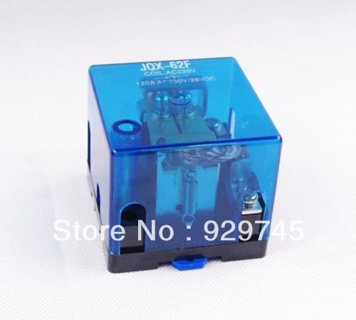 10pcs JQX-62F 80A DC 24V Coil High Power Relay<br><br>Aliexpress
