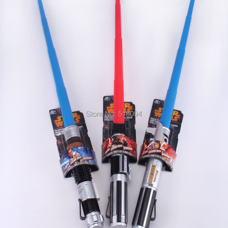Star Wars Weapons Cosplay lightsaber & no light sword Weapons PVC Action Figure Toys Christmas Gift for kids SWFG041(China (Mainland))