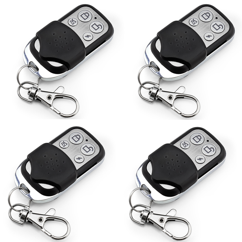 4pcs Wireless Remote Control Controller Keyfobs Keychain 433MHz For Our Alarm System P467(China (Mainland))