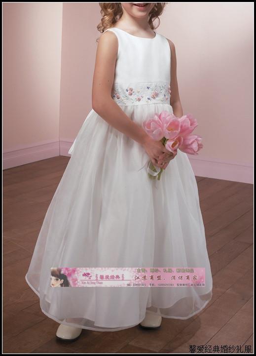 Child dress princess dress wedding dress one-piece dress flower girl dress d15<br><br>Aliexpress