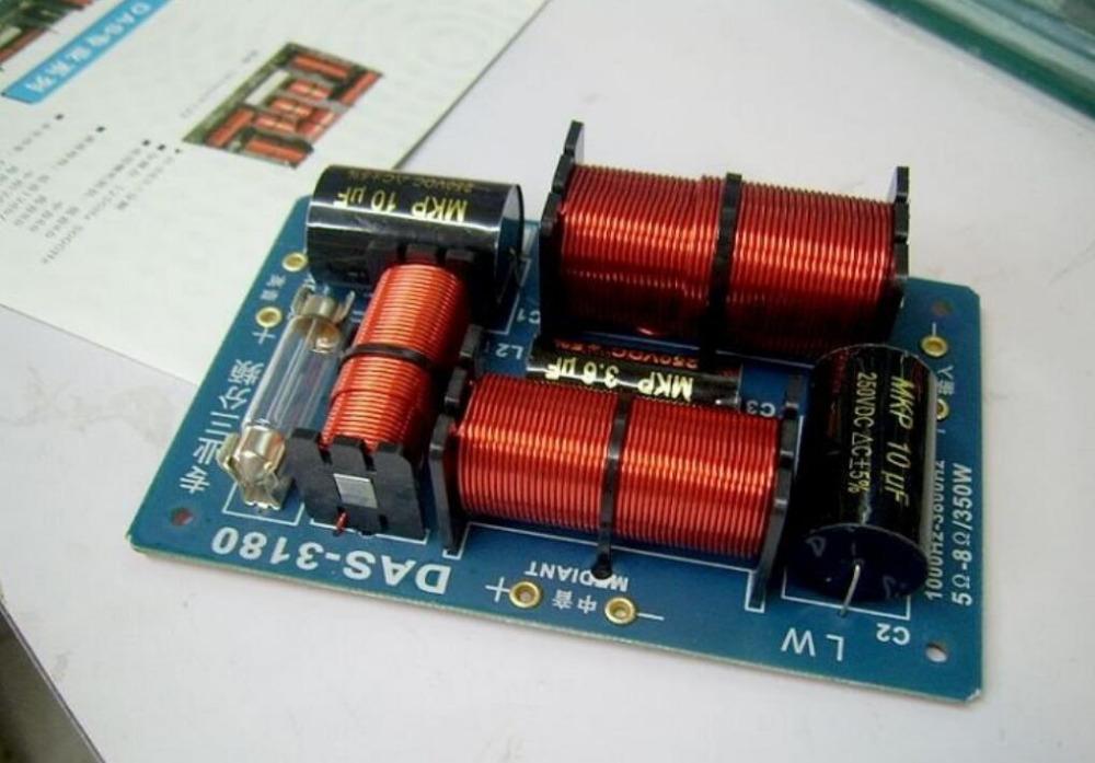 DAS-3180 oxygen free copper audio 350W 1000Hz-3800Hz three frequency divider(China (Mainland))