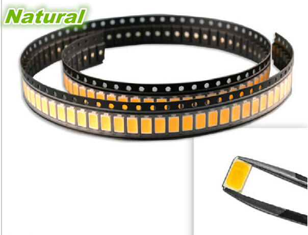 Hot Sale 100pcs/lot SMD 5730 High Bright 50-55lm LED Lamp Diode Chip Beads White/Warm White For LED Light Strip Rigid Bar(China (Mainland))