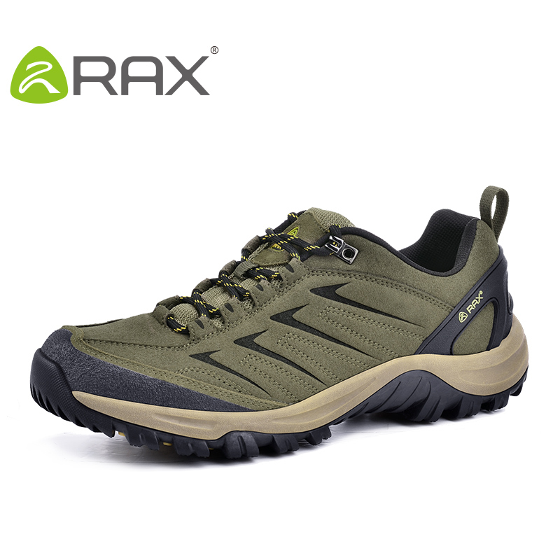 Rax Surface Waterproof Hiking Shoes Men Breathable Outdoor Climbing Walking Shoes Men Suede Leather Lightweight Trekking Zapatos<br><br>Aliexpress