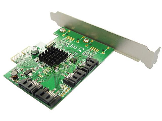 Marvell 88SE9215 Chipset 4 internal Ports SATA 6G PCI Express Card PCIe to SATA III 3.0 converter low profile bracket(China (Mainland))