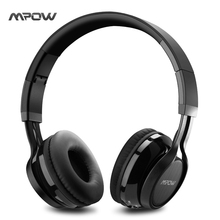 Buy Mpow Thor Foldable Over-head Wireless Bluetooth 4.1 Stereo Headphones Ear Headphones Mic Hands-free Calling for $25.47 in AliExpress store