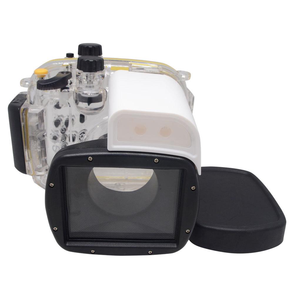 Mcoplus 40 м/130 футов Водонепроницаемый корпус камеры для подводной дайвинг Чехол для сапоп PowerShot G1X документе WP-DC44