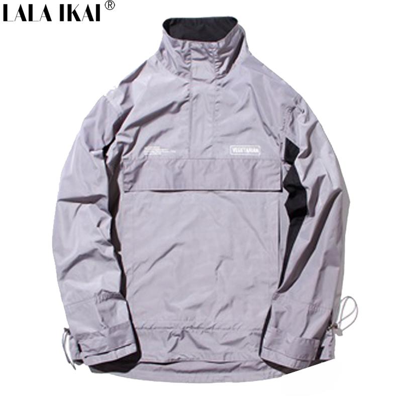 3M Jacket Men Hip Hop Reflective Windbreaker Windrunner Jackets Streetwear Soft Shell Bombers Jackets Brand 2016 SMC0249-4.5Одежда и ак�е��уары<br><br><br>Aliexpress