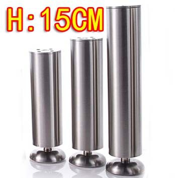 Гаджет  2015 big promotion 2PCS Freeshipping Stainless steel cabinet coffee table legs-- Diameter:50mm H:150MM(Adjustable H:16mm) None Мебель