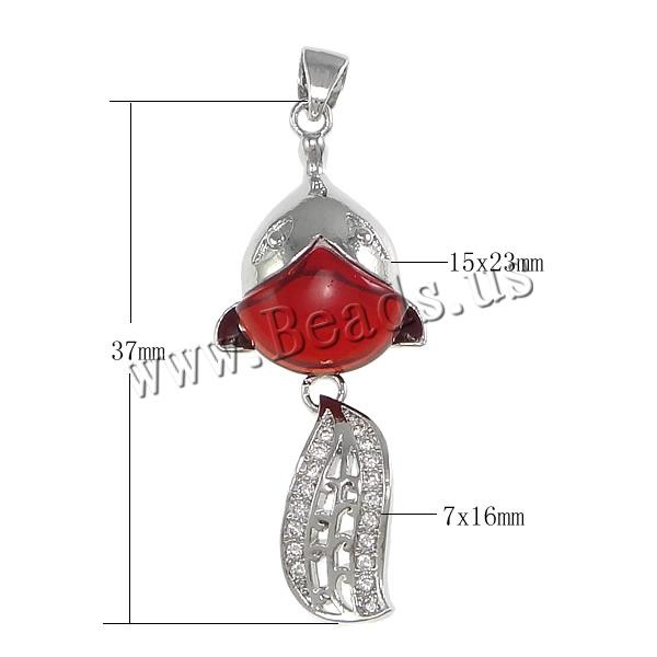 Free shipping!!!Cubic Zirconia Micro Pave Brass Pendant,Sexy Jewelry, with Glass, Fish, platinum plated<br><br>Aliexpress