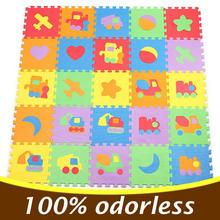10PCS 30*30cm Baby Puzzle Carpet Baby Play Mat Floor Puzzle Mat EVA Children Foam Carpet Mosaic Floor Play Mats 4 Style PX10(China (Mainland))