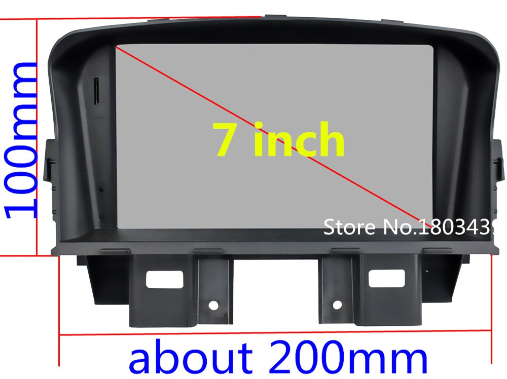 Quad Core 1024*600 Android 5.1.1 Car Multimedia DVD Player Radio Stereo 3G/4G WIFI GPS Map For Chevrolet Holden Cruze 2008-2014