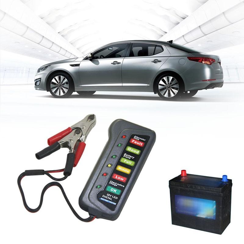 12V Car Battery Tester Automobiles Digital Car Battery Tester Auto Car Battery Alternator Diagnostic Tool for car/Motocycle(China (Mainland))