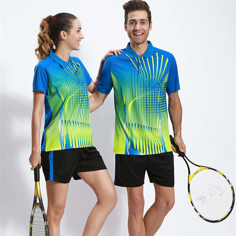 Sport Jerseys Men Women Table Tennis Clothing T-shirt Short Sleeved Shirt Ping Pong Jersey Badminton Tennis Training Suit(China (Mainland))
