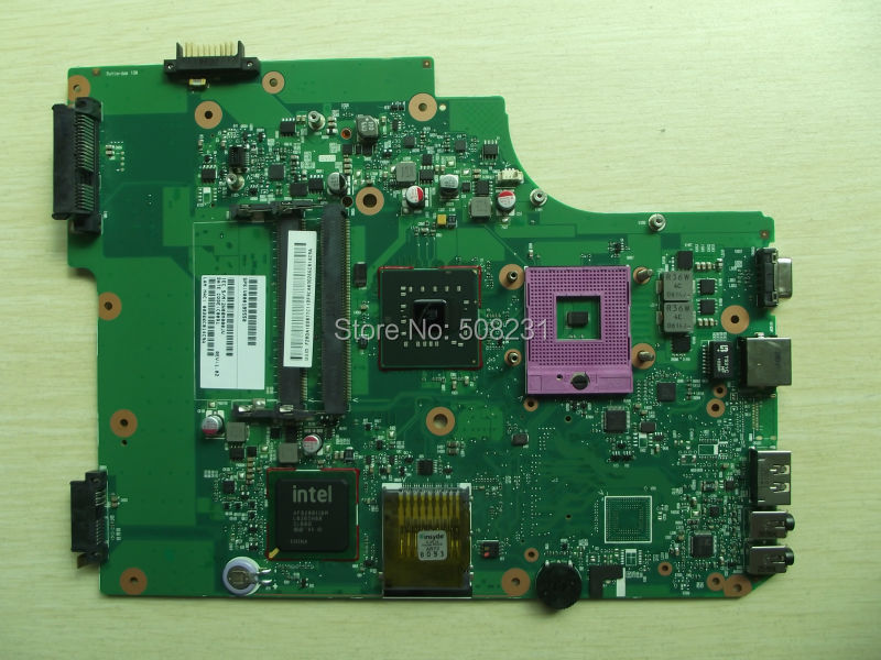 For Toshiba Satellite L500 L505 Laptop Motherboard V000185550,100%Tested and guaranteed in good working condition(China (Mainland))